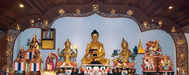 Kadampa Shrine- taiwan