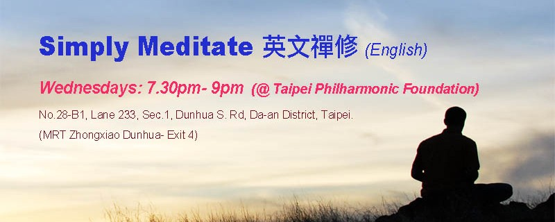 banner- wed meditation taipei